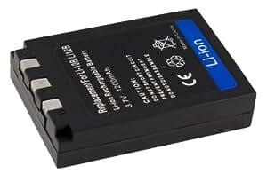 Batterie de remplacement pour Olimpus µMJU Digital, Sanyo Xacti VPC, DSC Série. remplacement pour Olympus LI-10B Li-12B Sanyo DB-L10 DB-L10AX