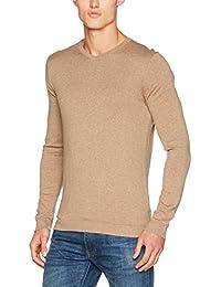 Jack & Jones Premium Jprluke Cashmere Knit V-Neck Noos, Pull Homme