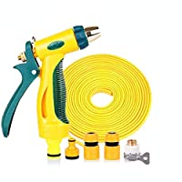 Surprenant Telescopic High Pressure Washing Car Water Gun Water Hose Housewares For Storage Watering Tools Home Car Set (Optional Size) Four Seasons Common (Size : 30m),Size:20m (Size : 25m)