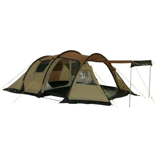 41Av1BRIXkL. SS500  - 10T Outdoor Equipment Waterproof Felton Unisex Outdoor Tunnel Tent available in Beige - 4 Persons