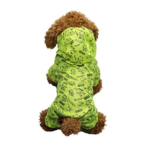 Hund Kleidung Wasserdichte Sonnencreme Regenmantel Licht und dünn trocken und kühl bequemer Hundemantel