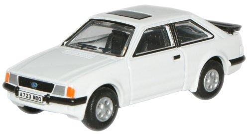 Oxford Die Cast - 76XR002 - Ford Escort XR3i - Diamond White
