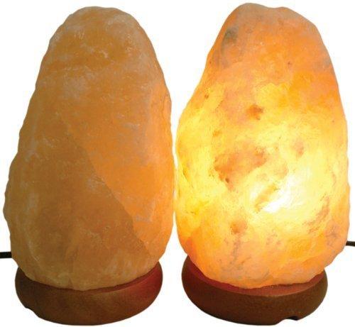2 x naturale terapeutico sale dell'himalaya lampadina
