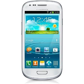 "Samsung Galaxy S III mini (I8190) - Smartphone libre Android (pantalla 4"", cámara 5 Mp, 8 GB, Dual-Core 1 GHz, 1 GB RAM), blanco"