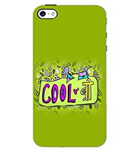 APPLE IPHONE 4 COOL BRO Back Cover by PRINTSWAG
