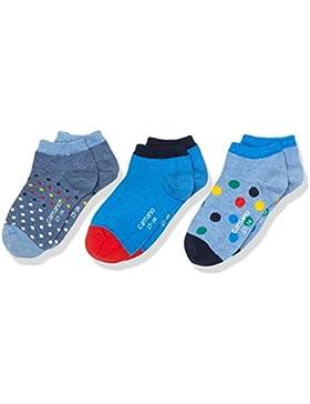Camano Calcetines para Deportivas y Botines para Niños (Pack de 3)