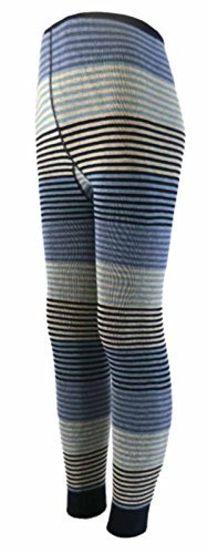 Kinder Leggings Feinringel Farbe: Blautöne, Größe: 23/26 bzw. 98/104