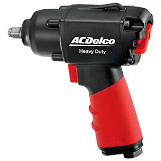 ACDelco Pneumatic Tool ANI307 3/8-inch Composite Impact Wrench, Heavy Duty AIR Tool, 280 ft-lbs
