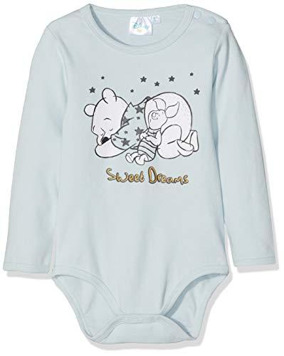 Disney Baby-Jungen 2138 Formender Body, Bleu, 0-6 Monate (Winnie Puuh Kostüm Babys)
