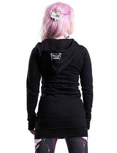 Heartless Clothing Kapuzenjacke METH BRO HOOD Black
