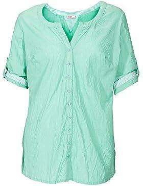 sheego Casual Blusa larga tallas grandes 100 % algodón Mujer