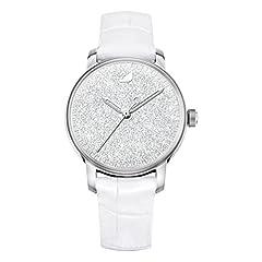 Idea Regalo - swarovski Orologio Crystalline Hours, bianco