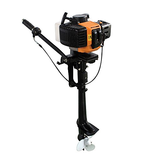 Oukaning outboard motor, from 2 times, air cooling, 2,5 KW / 3,5 PS