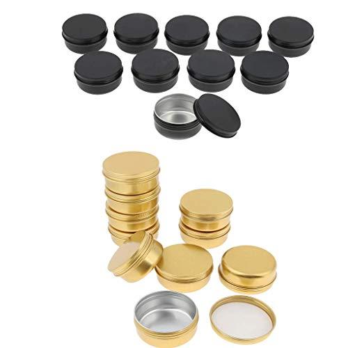 IPOTCH 20x Pot Cosmétique Vides Boîtes Maquillage Conteneurs 30g
