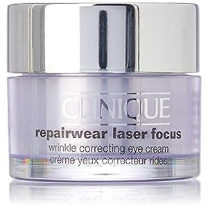 Clinique Repair Wear Laser Focus – Crema reparadora antiarrugas, contorno de ojos,15 ml