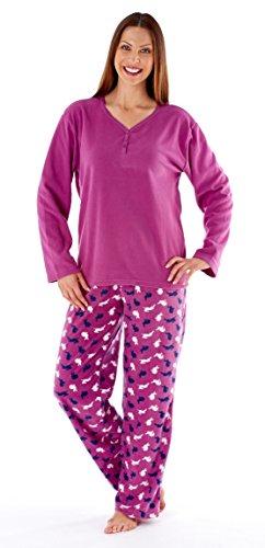 i-smalls Ltd - Ensemble de pyjama - Pyjama - Manches Longues - Femme Rose - Fuchsia