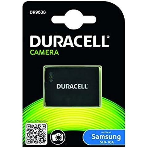Duracell DR9688 - Batería para cámara digital 3.7 V, 750 mAh (reemplaza batería original de Samsung