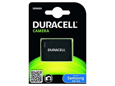 Duracell Rechargeable DR9688 Battery for Samsing SLB-10A Digital Camera