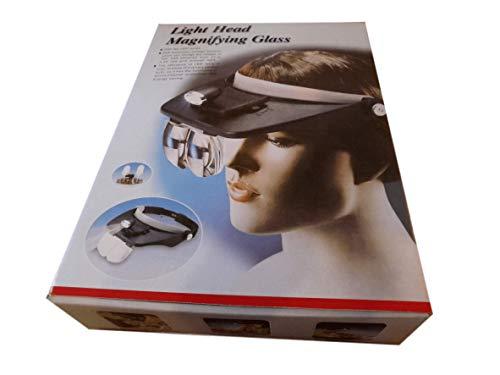 Beekeeping Supplies UK Kopflampe mit Lupe und Brille