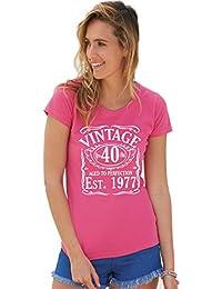 T-Shirt Printing 4 U - Camiseta - Cuello redondo - para mujer