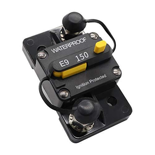 Shiwaki Wasserdichter 150 Ampere Manueller Zurückstellen Leistungsschalter 12v / 24v / 48v Auto Selbstboot -