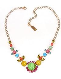Amaro Halskette Shining Gaia rosegold-bunt