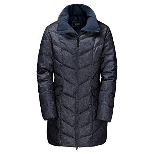 Jack Wolfskin Daunenmantel Baffin Bay Coat Damen night blue XX-Large
