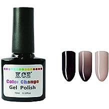 Tongshi Gel de uñas Polaco de cambio de temperatura Uñas de color Gel UV Gel 10ml Gel de uñas (I)