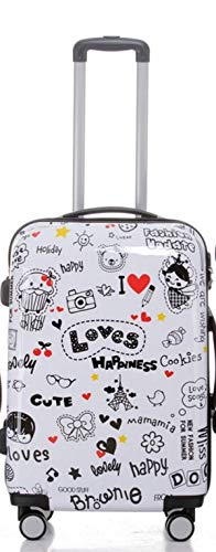 Loves – Valises à Roulettes, rigide, Choix manière Lot de 3 Pièces – XL, L ou M Trolley, 4 roues, XL/Light,, Mehrfarbig (Multicolore) - BEI-V2060-LO