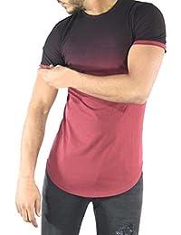 Kanpola Shirt Herren Slim Fit Männer Fitness Persönlichkeit Robustes Hemd  Sweatshirt T-Shirt Top Bluse f1f06c7260
