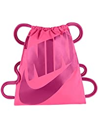 Nike Heritage Gymsack - Mochila para mujer, color rosa, talla única