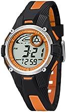 Calypso 5558/4 - Reloj para niños de cuarzo, correa de goma color varios colores (con luz, cronómetro, cuenta atrás, alarma)