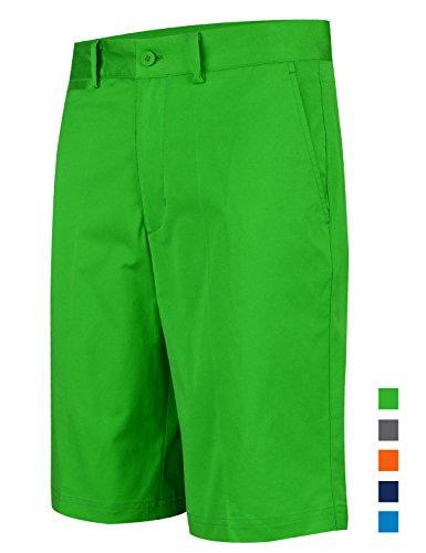 Lesmart Homme Short Golf Chino Coton Stretch Ete Pantalon Bermudas Slim Travail FR 40=US 30'' Taille...