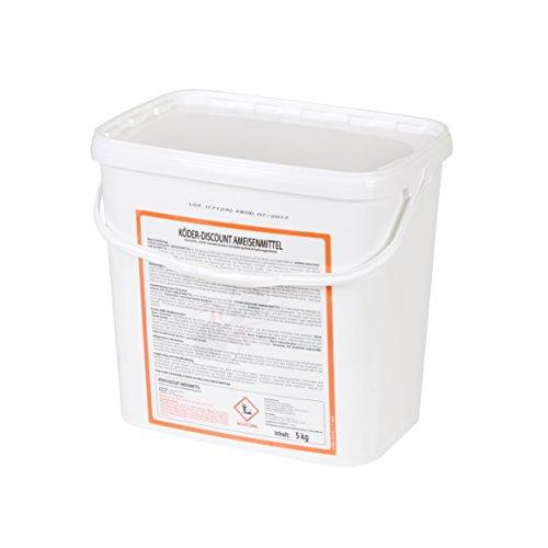 Köder-Discount 5 KG Ameisengift Granulat- Ameisenmittel Für Innen, Außen, Haus, Garten, Rasen - Ameisen Streumittel