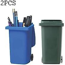 Tophacker Suministros de Oficina Mini cesto de Basura y Juego de Reciclaje en la banqueta,