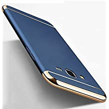 Aloin® Blue 360 Degree Protection 3in1 Back Cover Case for Samsung Galaxy J7 Next Back Cover Case (Blue)