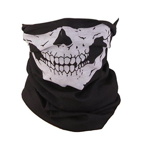 Sharplace Schädel Bandana Fahrrad Motorrad Gesichtsmaske, Multifunktionell Maske, Halstuch