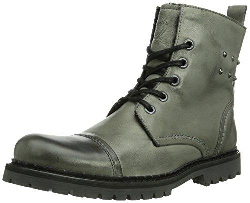 NOBRAND Bum Herren Biker Boots Grau (grey 04)