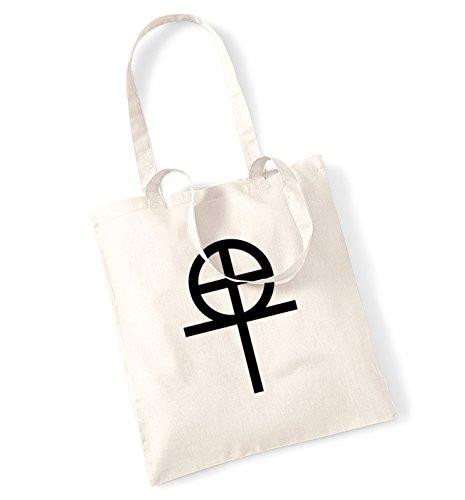 original coptic cross symbols tote (Ankh Abbigliamento)