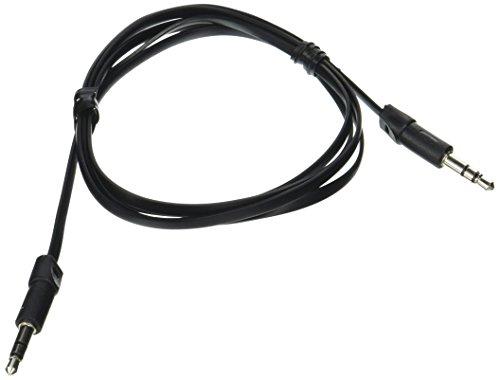 3.5MM AUX CBL 3.3FT BLK Stereo-audio-cbl