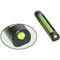 Mira de aluminio con fibra óptica verde Round 6 x 30