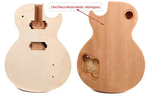Yinfente - Cuerpo de repuesto para guitarra eléctrica de madera de arce,...