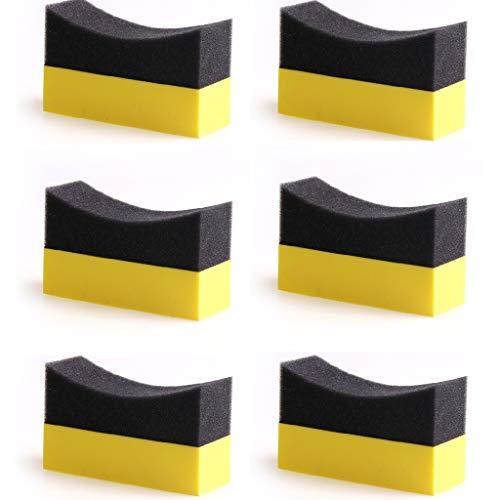 Auto Polieren Pads, Reifenkontur Dressing Applikator Pads, Auto Polierschwamm Kit Für Auto Schleifen Polierer Puffer Waschen ()