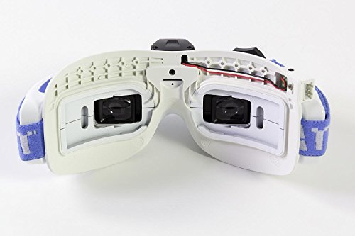 Fatshark 17000300 - Dominator V3 FPV Videobrille mit Akku - 4