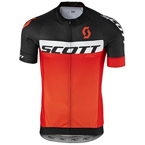 Scott RC Pro Fahrrad Trikot kurz schwarz/orange 2017: Größe: M (46/48) -