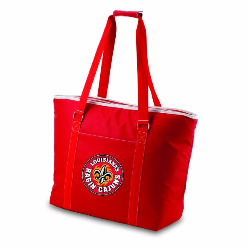 Picnic Time NCAA Louisiana Watson Cajuns Tahoe Extra Large Isolierte Kühler Tote, Rot - Lafayette Tote