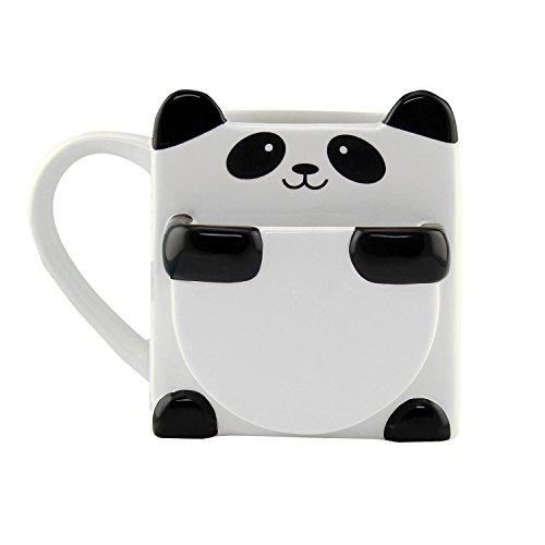 Close Up Tazza con Scomparto per Biscotti - Panda Hug Mug