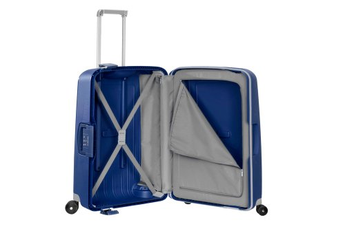Samsonite S'Cure Spinner 69/25 Koffer, 69cm, 79 L, Dark Blue - 3