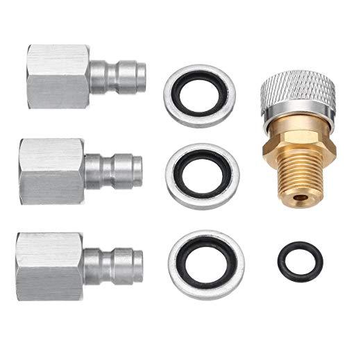 guntuff Quick Coupler F/üllung Luftgewehr//Charging Adapter Beste Auswahl an Fittings Kit f/ür Multi Fit Kupplung Set