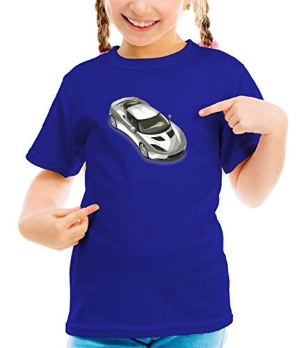 billion-group-british-roadster-royal-style-fast-car-series-girls-classic-crew-neck-t-shirt-dark-blue